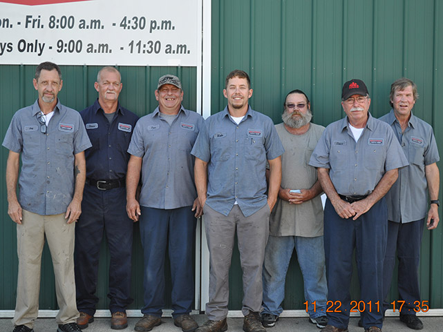 DNJ Truck full team
